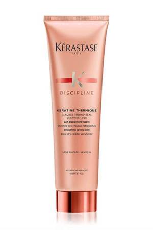 Discipline Keratine Thermique Leave In Heat Protectant For Frizzy Hair by Kerastase