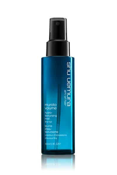 Muroto Volume Hydro-Texturizing Hair Mist for Fine Hair by Shu Uemura Art of Hair | 100ml