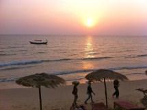 sunset otres beach sihanoukville, cambodia
