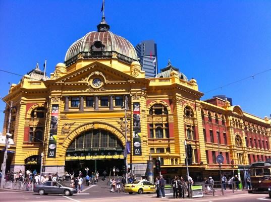 Flinders Street Station, Melbourne, Australia