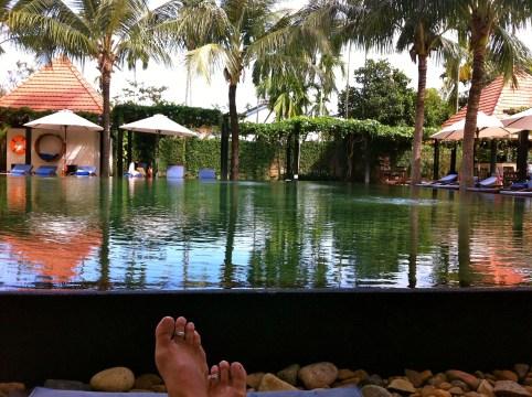Poolside Hoi An, Vietnam