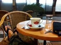 Cup of Coffee in Casablanca, Morocco