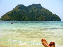 Somewhere off the coast of Thailand