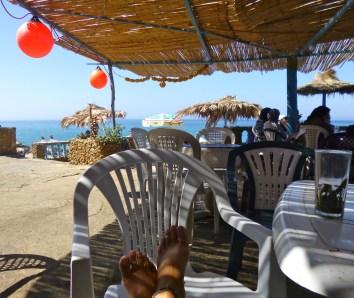 Oceanside Outside of Tangier, Morocco
