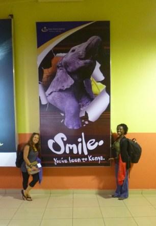 Smile You've Been to Kenya! Nairobi Airport