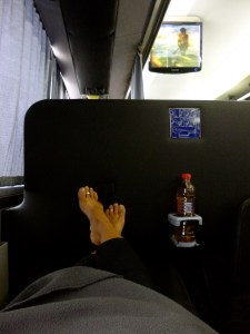 Overnight Bus in South America