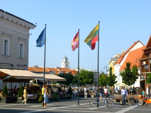 Town Hall Square VIlnius Lithuania