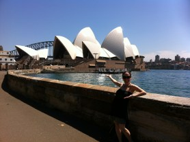 Love you, Sydney, but you don't feel that foreign!