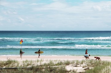 Kirra Beach. Copyright, Lexa.