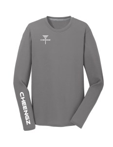 PC381LG CHEENGZ Aint Right Driver Tee Gray