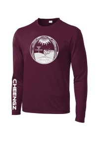The Church of The Holy Rollers Dry Fit Long Sleeve T Shirt Disc Golf Clothing apparel