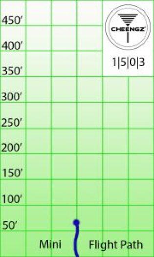 Disc Golf Mini Marker flight chart, disc golf mini marker. cheengz