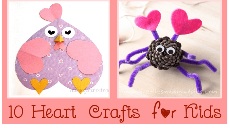 10 heart crafts and art projects cheer and cherry for Cheerleading arts and crafts