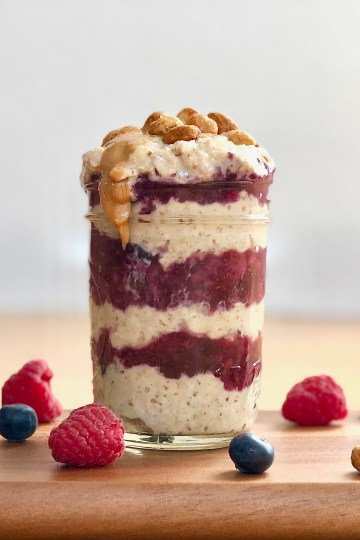 "Trying to figure out what to eat for breakfast? I've got you covered. This recipe is sure to become your ""JAM"" for a delicious and nutritious on-the-go breakfast!"