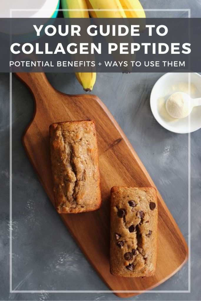 Collagen peptides have become increasingly popular. Take a science-based look at what they are, their potential benefits, and how to use them in recipes. #collagenpeptides #research #recipes #CheerfulChoices