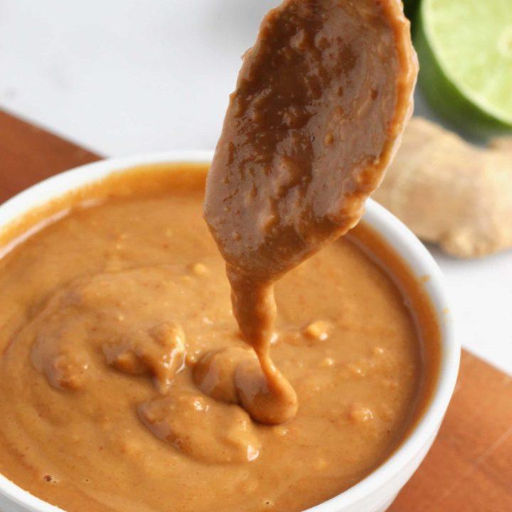 8 Ingredient Thai Peanut Sauce