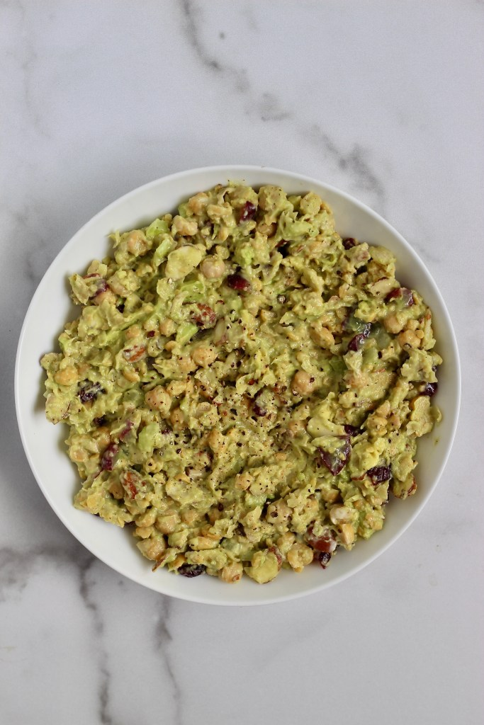 "Creamy Chickpea ""Chicken"" Salad"