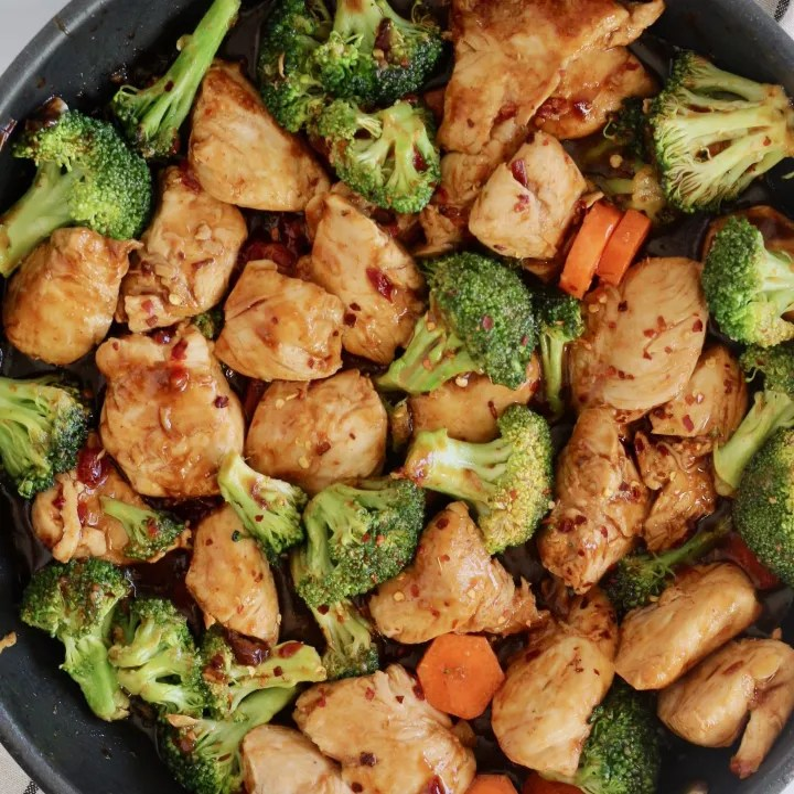 Sweet Chili Chicken Stir Fry