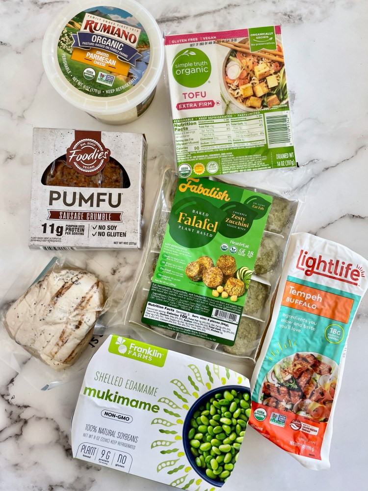 Animal and plant proteins