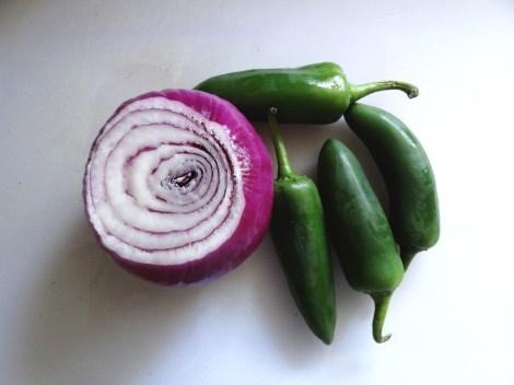 onion and jalapeno whole