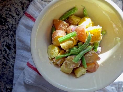 Warm Garlic Potato Salad 2