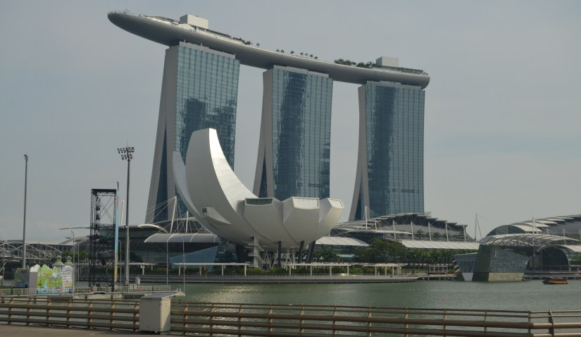 Marina bay sands a spectacular experience cheerful trails for Marina bay sands swimming pool entrance fee