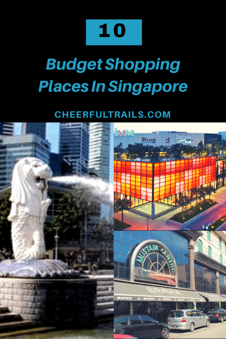 Budget shopping places in Singapore