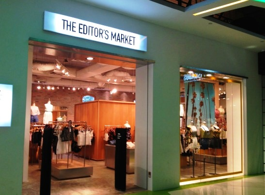 The Editor's Market shopping in singapore