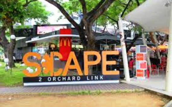 Scape Flea Market shopping in singapore
