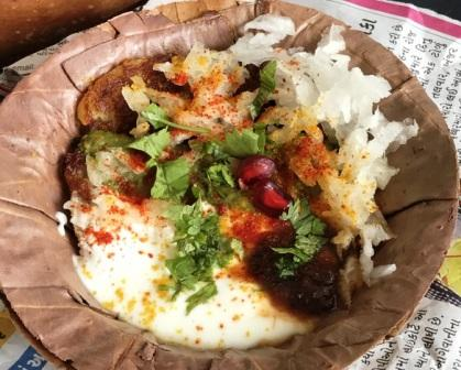 What To Eat In Agra - Bhalla Chaat