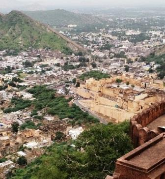 View From Jaigarh Fort - Things to do in jaipur