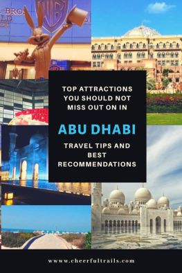 Abu Dhabi has many amazing sight seeings that you must explore while in city. Here's an ultimate list of places to visit in Abu Dhabi and things you should not miss out on.