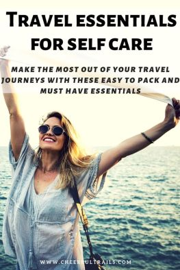 No matter how much your wanderlust is putting you on your feet, you must make sure that your wellness is not ignored. I have been carrying these easy to pack and legit self care essentials during my travels and I am sure you would find them useful too.