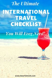 The Ultimate Worry Free International Travel Checklist