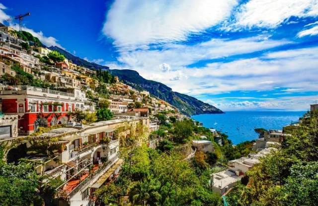 Amalfi Coast - Beautiful Cities To Visit In Italy