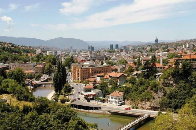 Sarajevo - Places to visit in Europe in Summer
