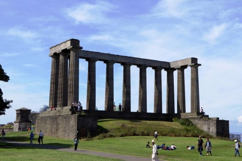 National Monument in Edinburgh Itinerary