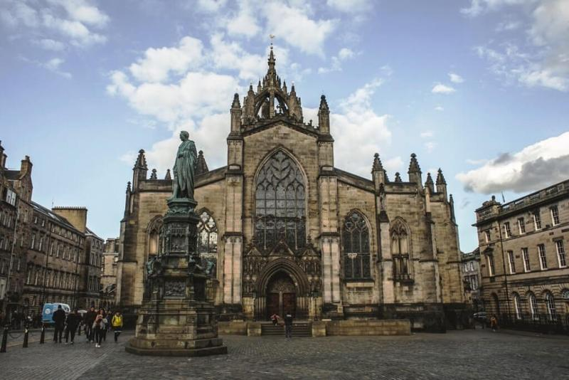 Saint Giles Cathedral in Edinburgh Itinerary