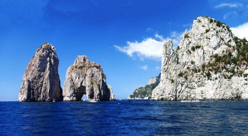 Faraglioni Rock Formations - Capri In One Day Itinerary