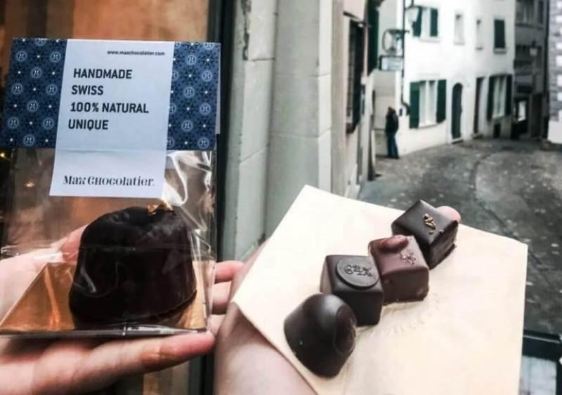 Swiss Chocolate - Things to do in Switzerland