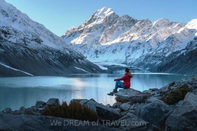 Mount Cook - New Zealand Honeymoon