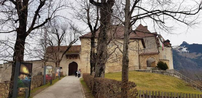 Medieval Gruyere Castle