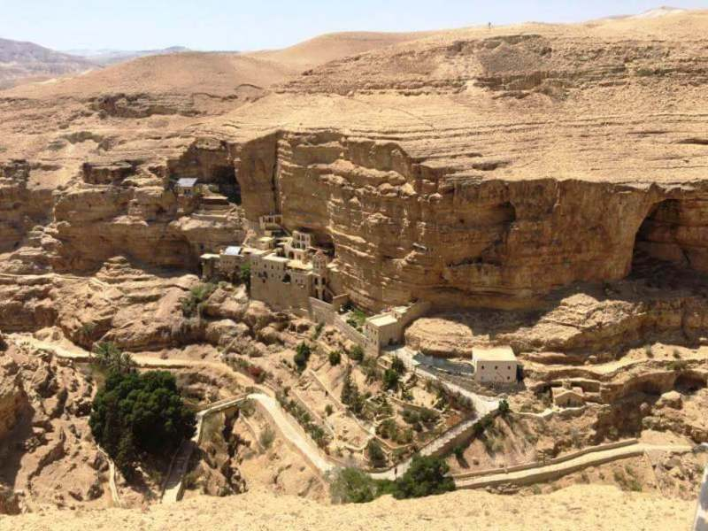 St George Monastery On The Cliff