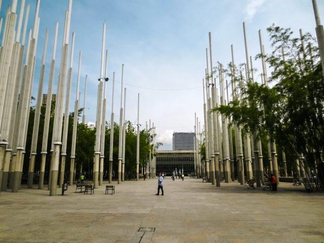 parque de las luces - Medellin Itinerary