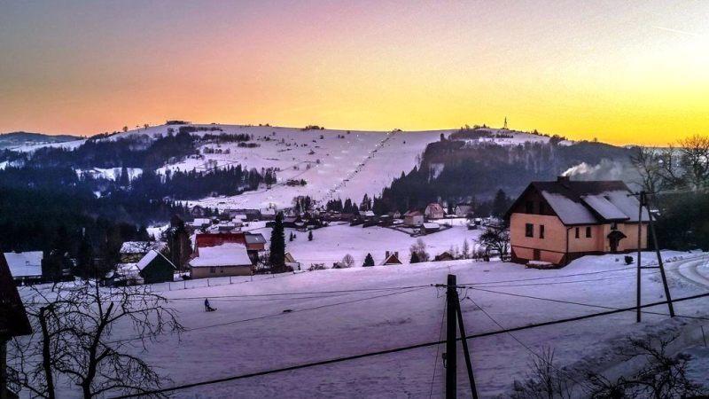 Wisla - Poland In Winter