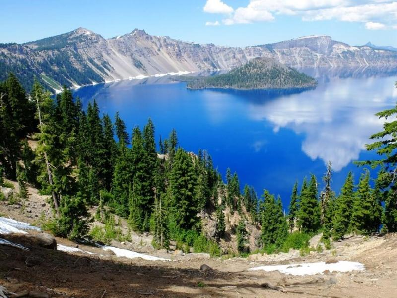 Crater Lake - Beautiful Lakes In The United States