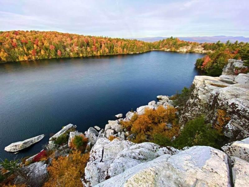 Minnewaska Lake - Beautiful Lakes In The United States
