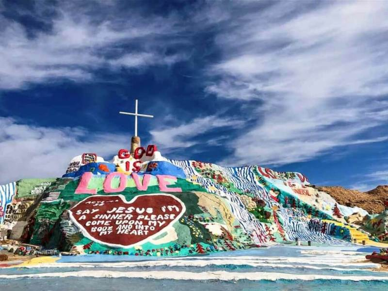 Slab City - Weekend Trips From Los Angeles