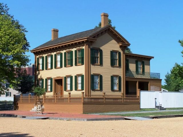 abraham lincoln house springfield