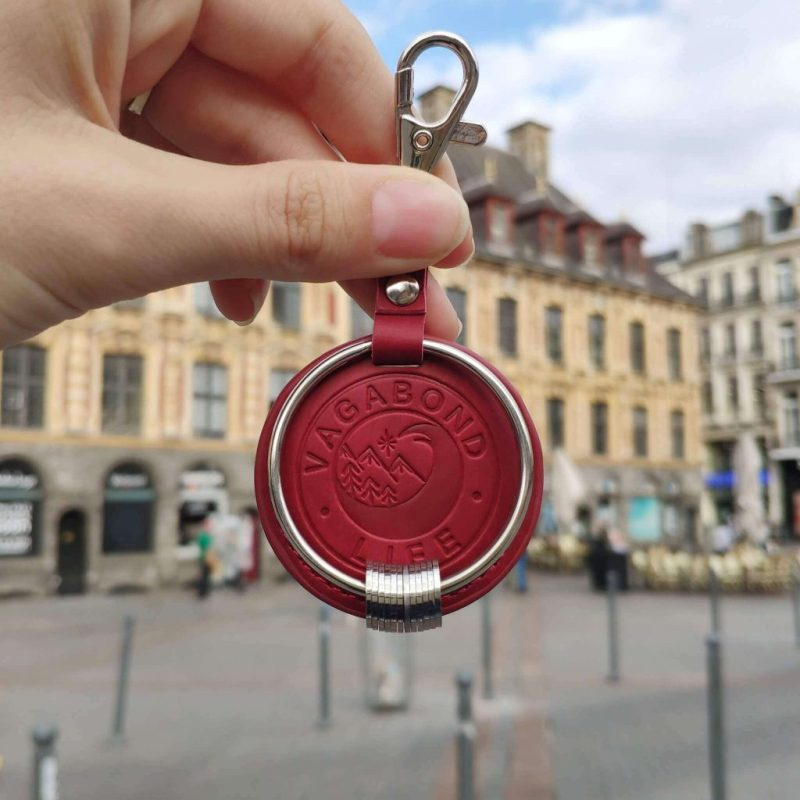 Traveller Keychain - Travel Gifts For Women